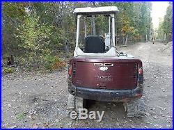 Mini excavator Takeuchi TBO 35