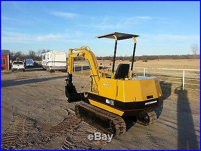Mitsubishi MA03 Mini Excavator Trackhoe Backhoe Dozer Mitsubishi Diesel Engine