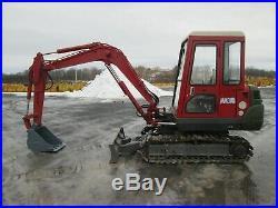 Mitsubishi MM35B Excavator Tractor Dozer Joystick Blade 3RD Valve Diesel Cab