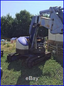 Mitsubishi MM55SR Excavator Backhoe Same as Cat 304.5