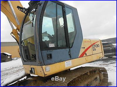 NEWHOLLAND EC-130 LOW HRS 95% BOTTOM END QK HITCH BUCKET WORK READY IN PA