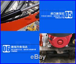 NEW 08 MINI Hydraulic Crawler Excavator Bulldoz Shipped by Sea to your Port