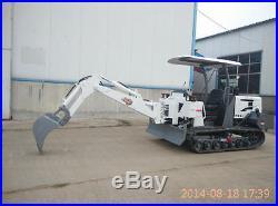 NEW 1.8T MINI XW-16 Hydraulic Crawler Excavator Bulldoz Sea Shipped To Worldwide