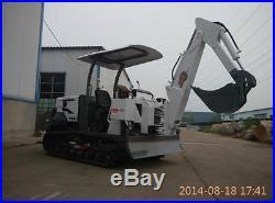 NEW 1.8T MINI XW-16 Hydraulic Crawler Excavator Bulldoz Shipped by Sea