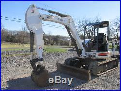 Nice 2008 Bobcat 435 Mini Excavator