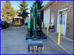 Nice Bobcat E26 Hydraulic Mini Excavator Cab Heat A/C Aux Hydr Diesel low hours