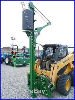 POST DRIVER, POST POUNDERWRAG EX660 Excavator Mounted, Hyd Tilt, 110,000lbsForce
