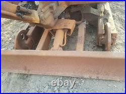 Pel job eb12.4 mini digger excavator dismantling for parts! Dozer blade only