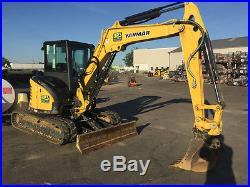 RENTAL Yanmar ViO55 Excavator