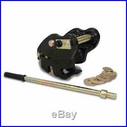 Rhinox Manual Quick Hitch / Coupler To Fit Bobcat E08 / E10