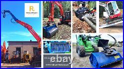 Robustrack ALUMINIUM LOADING RAMPS Excavators, Telehandlers, Skidsteers