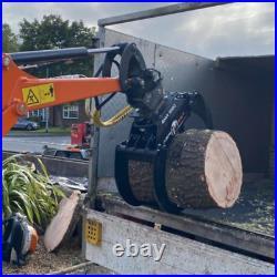 Robustrack LOG GRAB GMR 1000 for 1.51.8 Ton Excavators, Forestry Loaders