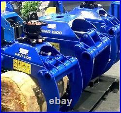 Robustrack LOG GRAB GMR 1050 for 1.82.5 Ton Excavators, Forestry Loaders