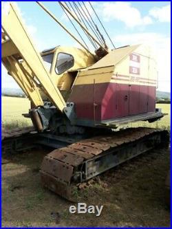 Ruston Bucyrus 22-rb Dragline Crawler Crane / Excavator