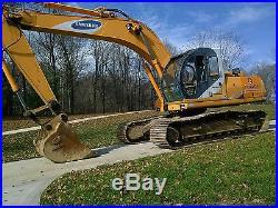 Samsung SE210 LC-2 Crawler Excavator No Reserve High Bid Wins Nice