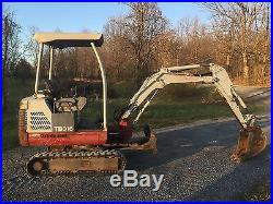 TAKEUCHI TB016 RUBBER TRACKED MINI EXCAVATOR LOW COST SHIPPING RATES
