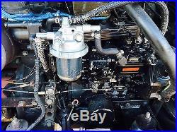 TAKEUCHI TB135 HYDRAULIC EXCAVATOR RUBBER TRACK DIESEL ENGINE BOB CAT DOZER