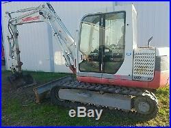Takeuchi 175 excavator