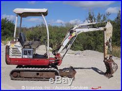 Excavators » Blog Archive » Takeuchi TB016 Mini Excavator