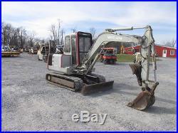 Takeuchi TB045 Mini Excavator with Cab & Thumb