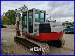 Takeuchi TB1140 Excavator, Dozer Blade, 4206 hours