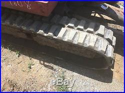 Takeuchi TB135 Mini Excavator Backhoe WithDozer Blade and Hydraulic Thumb