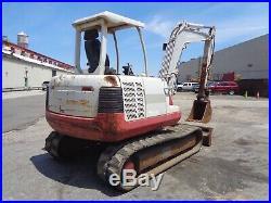 Takeuchi TB145 Mini Excavator Loader Diesel Aux Hydraulics