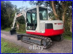 Takeuchi TB175 Excavator A/C Enclosed CAB Hydraulic Thumb SHIPPING/FINANCE READY