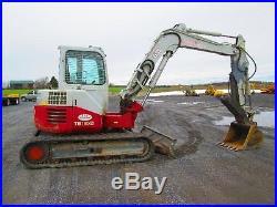 Takeuchi TB180FR Farm Mini Excavator Tractor Dozer
