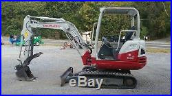 Takeuchi TB230 Mini Excavator