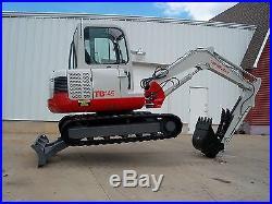 Takeuchi TB 145 Mini Excavator One owner Excellent Condition