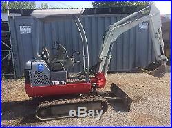 Takeuchi Tb016 Mini Excavator- Excavator