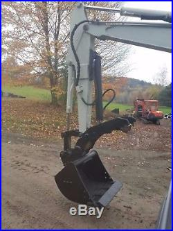 Takeuchi Tb125 Excavator Low Hours Hydraulic Thumb Ready 2 Work In Pa