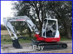 Takeuchi Tb53fr Excavator Hydraulic Thumb Low Hours Ready To Work