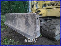 Takeuchi mini excavator tractor loader dozer digger hoe 7600lbs 24 bkt aux hyd