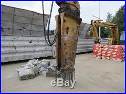Teledyne TB980X 200 Class Hydraulic Excavator Concrete Breaker Demo Attachment