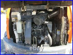 USED HITACHI ZX50U EXCAVATOR Diesel Canopy 3rd Valves