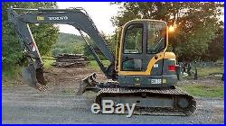 Volvo Ecr88 Excavator 18k Lbs 1000 Hrs Very Nice Ready To Work In Pa! We Ship