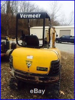Vermeer Mini Excavator