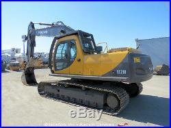 Volvo EC210LC Hydraulic Excavator Hydraulic Thumb A/C Cab Aux Hyd bidadoo
