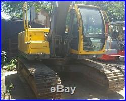 Volvo Ec150lc Excavator Aux Hydraulics Quick attach Orignial Clean