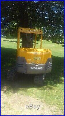 Volvo ec25 mini excavator