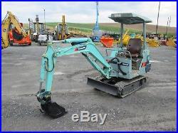 Yanmar B12-1 Mini Excavator Farm Tractor Dozer # 594B