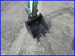 Yanmar B12-1 Used Mini Excavator Tractor Dozer Rubber tracks Diesel Blade