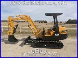 Yanmar B27 Mini Excavator Trackhoe Backhoe John Deere Hydraulic Thumb