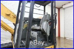 Yanmar B7-3 Cab Track Excavator, Ac/heat, Straight Blade