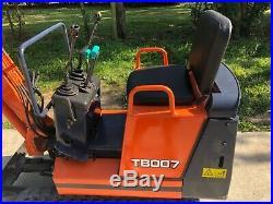 Yanmar TB 007 mini excavator