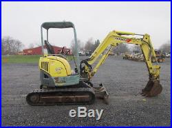 Yanmar VIO27 Mini Excavator