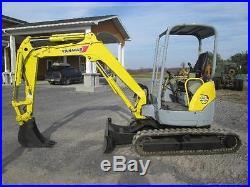 Yanmar VIO35-3 Mini Excavator Farm Tractor Dozer