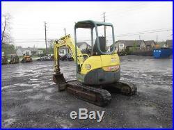 Yanmar VIO35 Mini Excavator
